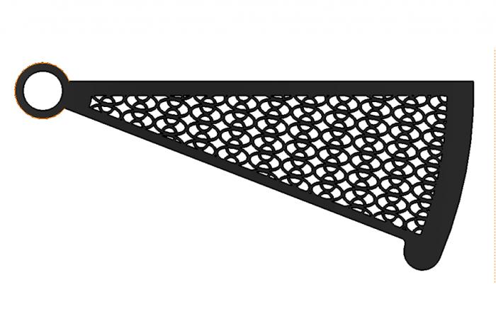 Spiral tread laser cut