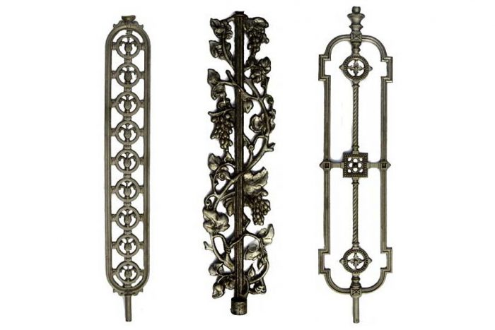Albion spiral balusters