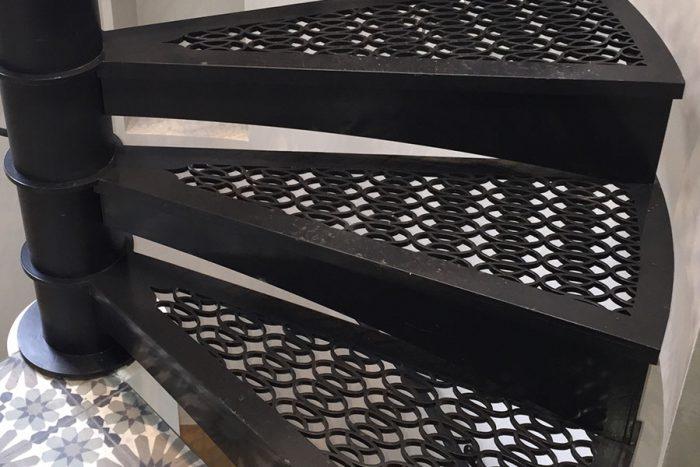 Laser cut treads