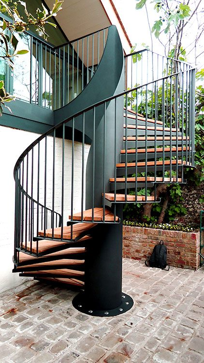 Feature External Staircase