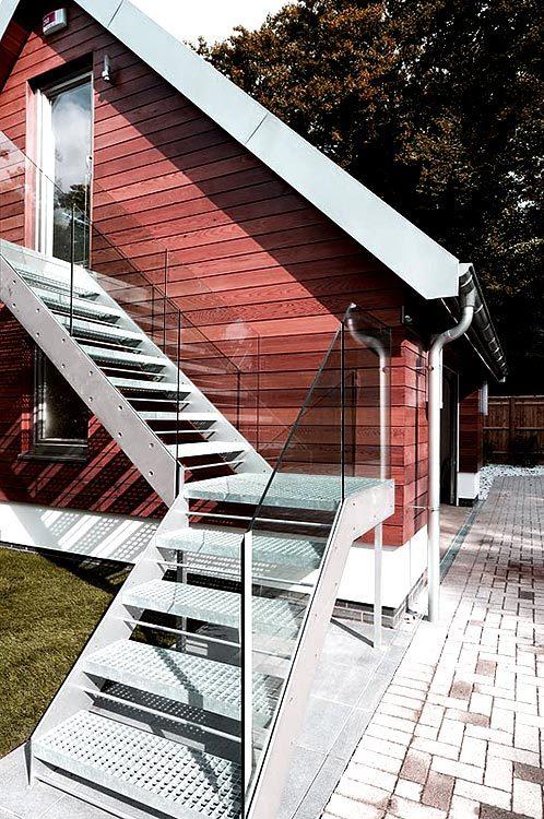 Premium external staircases