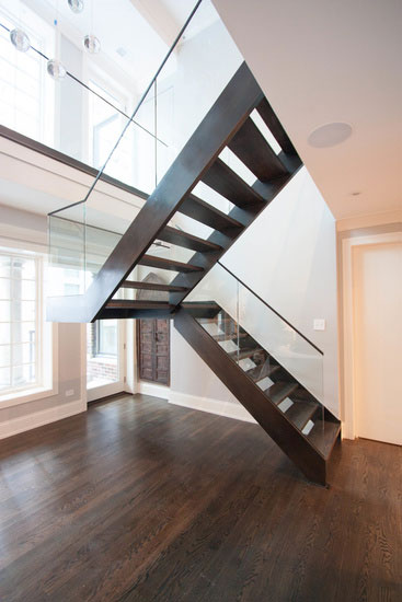 Premium floating staircase