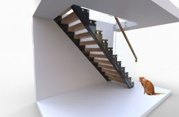 Cut string staircases