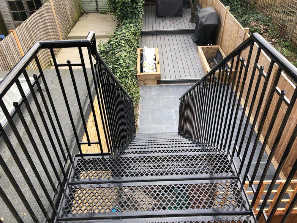 External staircase design